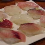 港鮨 - 地魚にぎり