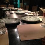 36185426 - 7用のテーブルを予約した。