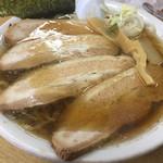 ラーメン 福助 - チャーシュー麺。
