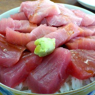 海峡荘 - 料理写真:マグロだけ丼