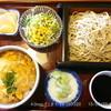やぶそば - 料理写真:玉子重せいろ\900 (そば大盛り+\100) 2015.3