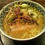 らー麺屋 バリバリジョニー - グリーンカレーらー麺
