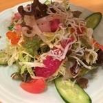 かんころ亭 - 海鮮サラダ