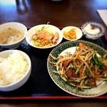 中華料理 龍縁 - 妻の定食は美味かった、次は定食にしよう