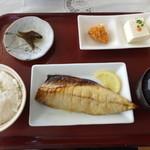 36189191 - 塩鯖セット ¥570(税込)