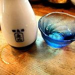 とり新 - 日本酒(老松) ¥340