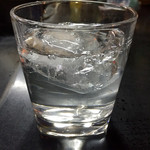 上田温酒場 - 芋焼酎の前割り