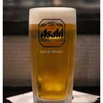 とさかや - 「生ビール」(2014.07)