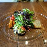 オーレ ベアーテ - 前菜盛り合わせ 丁寧かつ繊細、とても美味しい(ランチ:2014.4.16)