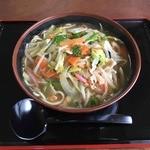 ドライブステイみやま - 野菜たっぷり、あっさりスープのチャンポン