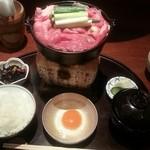 36198035 - すき焼き定食