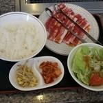 36198767 - 豚カルビ焼肉ランチ500円外税