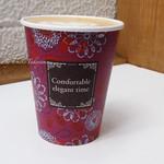 anthrop.Espresso&Comfort - to goのパッケージデザイン可愛い