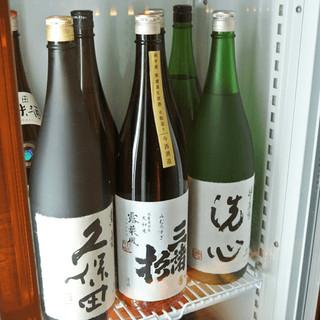 調布トップクラス!店主が厳選したの日本酒をお楽しみください。