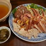 魚平 - かにシャブ鍋