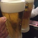 テッペン。 - ビックリ生ビール