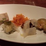 リエーブル - 前菜四種盛り
