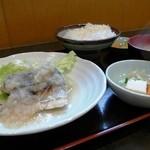 山おか - 銚子 本鰆焼おろし定食