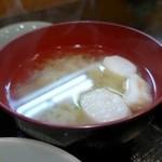 山おか - 味噌汁