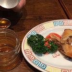銀座 天龍 - はちみつで食べる春巻です。