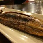 串八 - 秋刀魚の開き