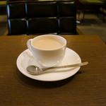 上島珈琲店 - 豆乳ミルク珈琲Sサイズ(練乳入):400円