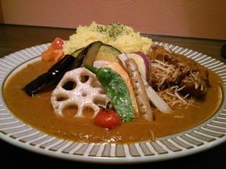 さくらじま ジェイコブスパイス - 鶏のカレー 野菜トッピング