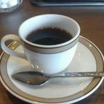ツタヤ喫茶店 - サービスコーヒー(ウマ!)