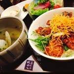 グラングラシェ - 料理写真:網走ザンギ丼はお得感たっぷりだし美味しい♡