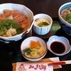 みかわの郷 - 料理写真:「寒ブリ漬け丼セット」(税込1,491円)