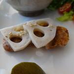 グルテンフリーCafé RiceTerrace かまくら - カレープレート(田んぼのパン付き)のタンドリー風チキン