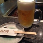 狸狸亭 - 生ビール!