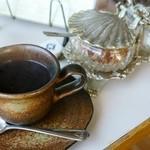 きたの - 焼きそば風スパゲティについているコーヒー旨し!