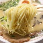 36214834 - 博多直送というストレート麺 2015.3
