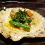 甍 - ホタテ(一皿で二個)