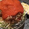 玉菜家 - 料理写真:明太チーズもんじゃ 焼く前