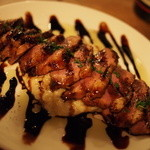 36217423 - 鴨肉のキャラメリゼ 濃厚チーズリゾット添え