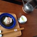 サノワ サロンドテ - 煎茶と共にいただきます