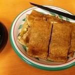 ちょぼ焼き・焼きそば 末広 - ちょぼ焼き 肉・玉子・野菜(500円)