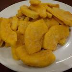 京華閣 - かぼちゃの黄身包み揚げ
