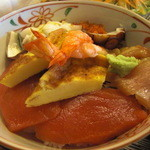 旭寿司 - アップ ちらし反対側アップ