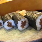 旭寿司 - 旭寿司 かんぴょう巻アップ