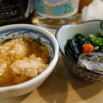 一福鮨 - お通しのつみれ煮と白魚