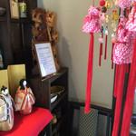 右衛門五郎 - 3月に伺ったので節句のお飾りが店を飾ってました。