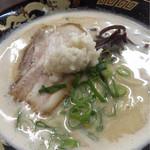 ぎょらん亭 - どろラーメン680円