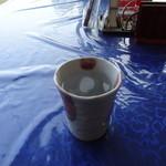 チェリーゴルフクラブ小倉南コース レストラン - モーニング焼酎は、黒霧の水割り♪