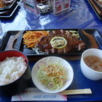 チェリーゴルフクラブ小倉南コース レストラン - サーロインステーキグリル:1,512円(税込)