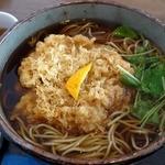 川越 藪蕎麦 - 天ぷらそば(1,500円)川越藪蕎麦