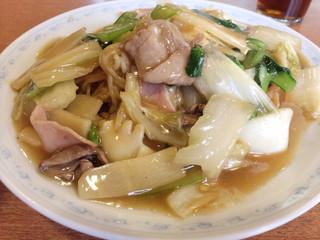 中国料理太湖飯店 本店 - 五目焼きそば 900円 実に美味しい