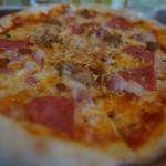 36228456 - ニクニクしいピザ
